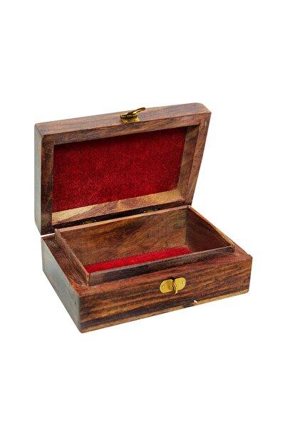 Ahşap El Yapımı Kutu