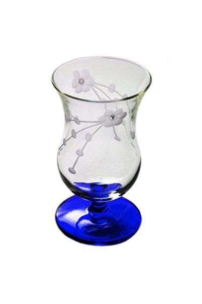 Selvi Taşlı (Mavi) Gala Çay Ve Kahve Bardağı 4 Adet