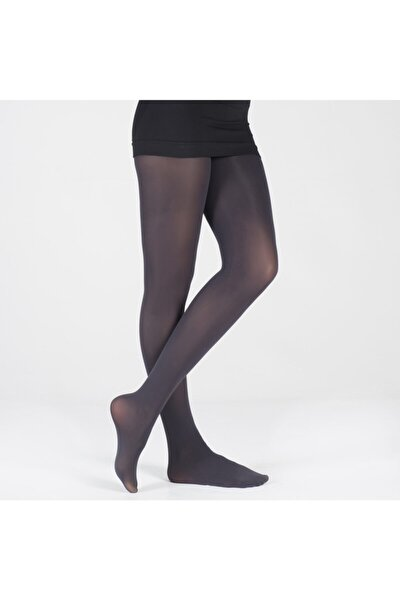 40 Denye Kadın Basic Külotlu Çorap - Siyah