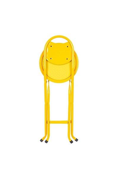 Sarı Katlanır Portatif Sandalye