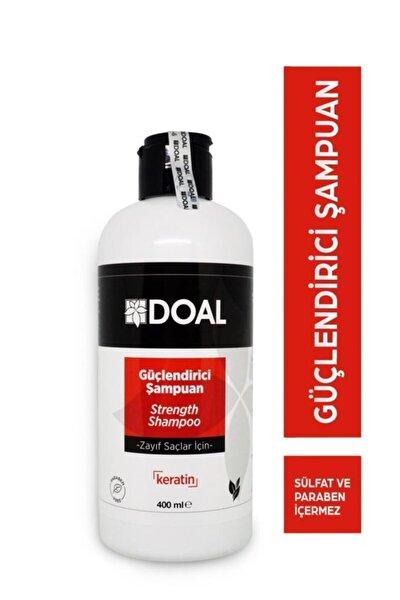 Zayıf Saçlar Için Güçlendirici Keratin Şampuanı 400 ml