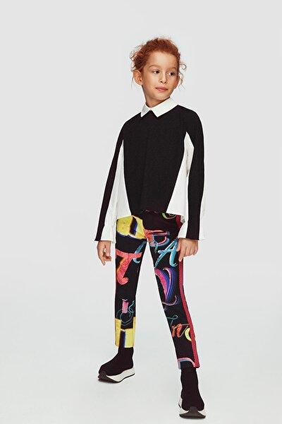 Kız Çocuk Siyah Bluz 20fwll03532
