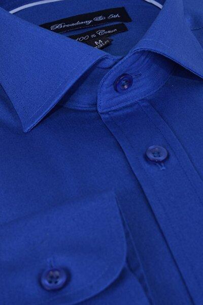 Broadway Uzun Kollu Klasik Erkek Gömlek
