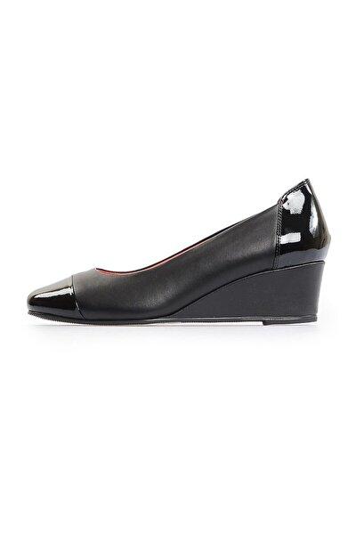 Siyah Rugan Kombin Günlük Feta Ayakkabı