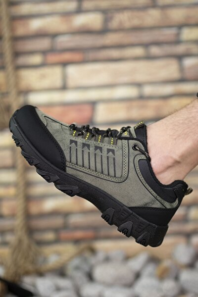 Haki Siyah Erkek Trekking Ayakkabı 00121180
