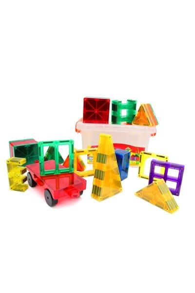 3d Magnet Lego Zeka Geliştirici Eğitici Oyuncak / 60 Parça / Çocuklar Için Eğitici Oyuncak