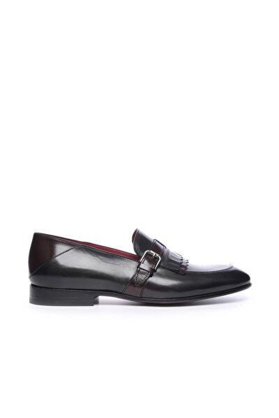 Erkek Derı Klasik Ayakkabı 342 7230 K Erk Ayk