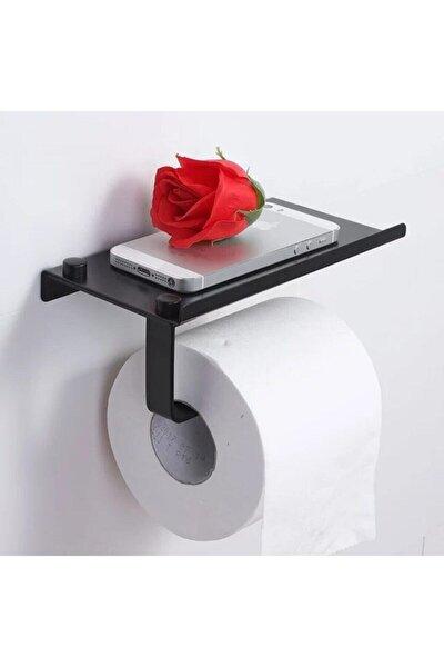 Telefon Raflı Tuvalet Kağıtlığı Cep Telefonu Tutmalı Raf