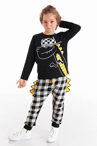 Rap Dino Erkek Çocuk Pantolon Takım