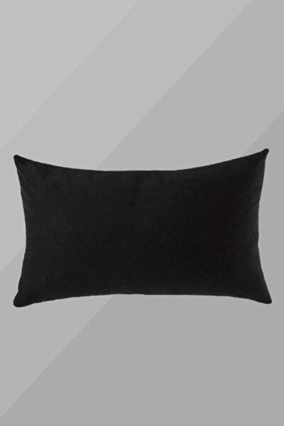 Kadife Kırlent 30x50 Siyah
