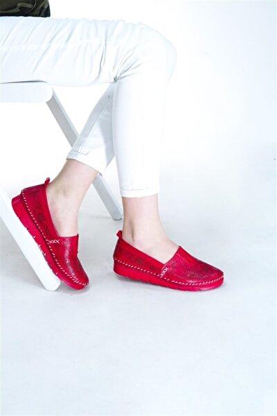 Hakiki Deri Kadın Günlük Ayakkabı Rkl256