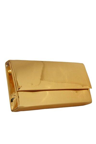 Altın Ayna Abiye Çanta