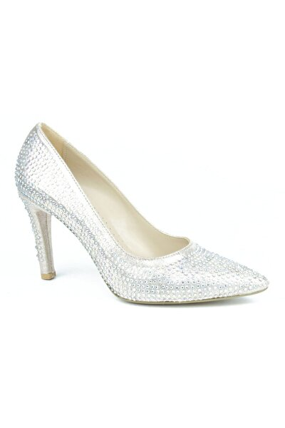Kadın Taşlı Topuklu Ayakkabı