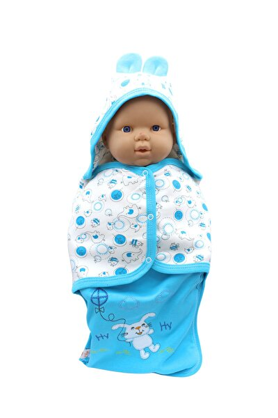 Tavşanlı Bebek Kundak Battaniye K228