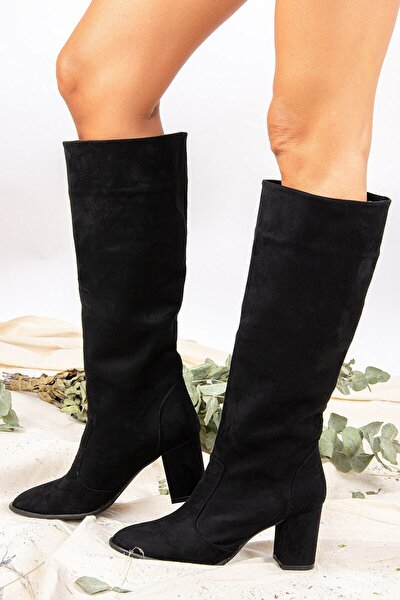 Siyah Kadın Çizme J610082002
