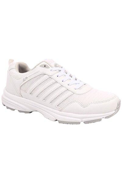 Unisex Beyaz Ortopedik Taban Spor Ayakkabı 6803