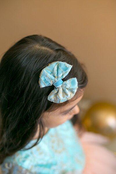 Mint Kız Çocuk 2'li Klips Fiyonk Elegant