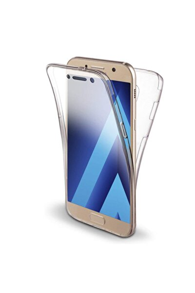 Samsung Galaxy A7 2017 Kılıf, 360 Çift Taraflı Silikon Şeffaf