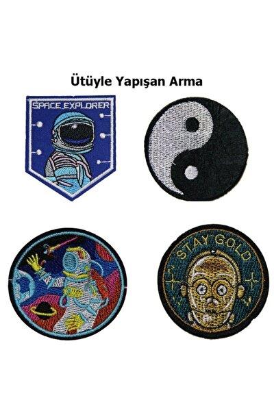 Nasa Uzay Serisi 1 Arma Yama Patch Sticker