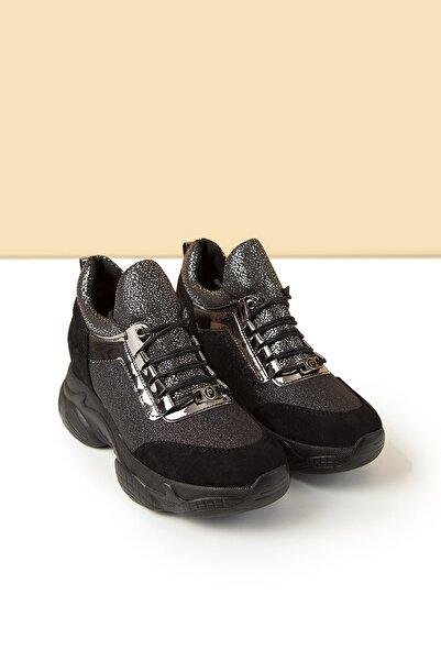 PC-30398 Siyah Erkek Spor Ayakkabı