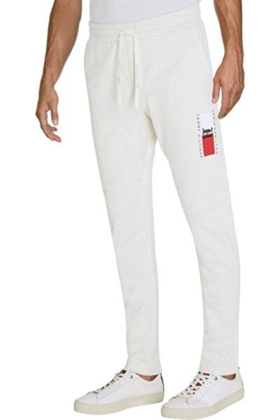 Erkek Beyaz Lh Fleece Sweat Eşofman Altı