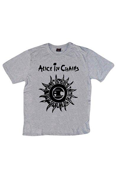 Alice In Chains Baskılı T-shirt