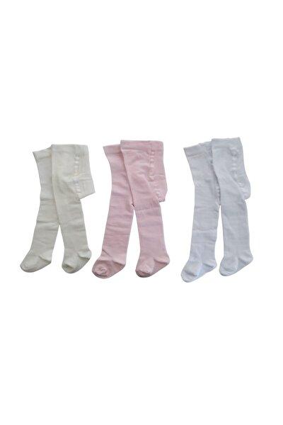Bebek Külotlu Çorap Seti 3 Adet