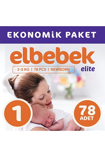 Bebek Bezi 1 Numara Yenidoğan 78 Adet