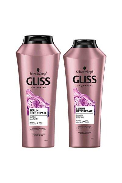 Serum Deep Repair Onarıcı Şampuan Seti (Şampuan 500 ML + Şampuan 360 ML)