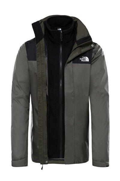 Trıclımate Jacket Erkek Haki-siyah (Nf00cg55bqw1tf11)