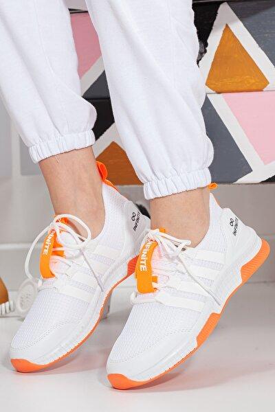 Unisex Turuncu Sneaker Ayakkabı Mgforce01