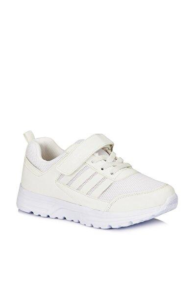 Yamato Unisex Çocuk Beyaz Spor Ayakkabı