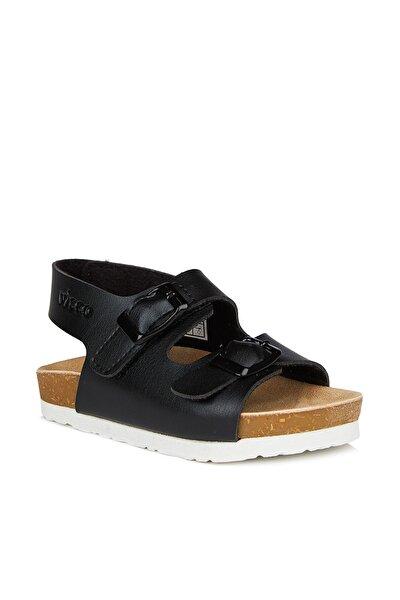 Last Unisex Çocuk Siyah Sandalet