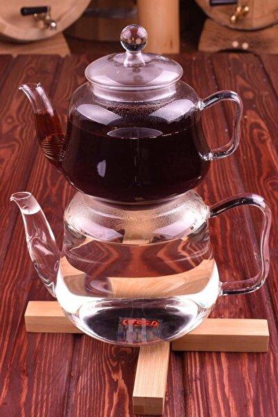 Taşev Lappi Cam Çaydanlık T1237