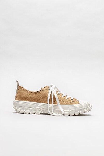 Kadın Camel Sneaker