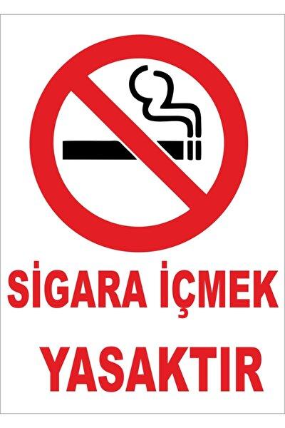 Sigara Içmek Yasaktır Levhası