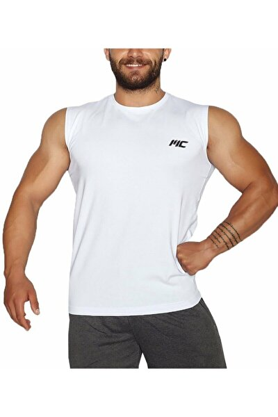 Training Kolsuz T-shirt Beyaz - X-large