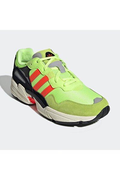 Yung-96 Yeşil Erkek Kalın Tabanlı Sneaker