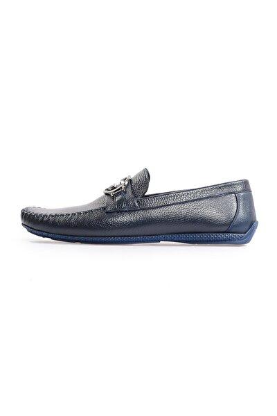 Laci Deri Toka Detaylı Loafer Ayakkabı
