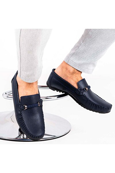 Ortopedik Loafer Erkek Ayakkabı Mln1102 Lacivert
