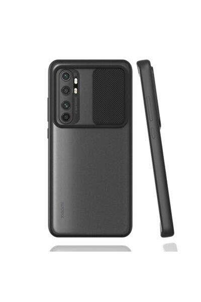 Xiaomi Mi Note 10 Lite Uyumlu Siyah Kılıf