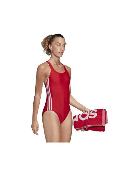 Kadın Kırmızı Fıt Suıt 3s  Yüzücü Mayosu Fj4482