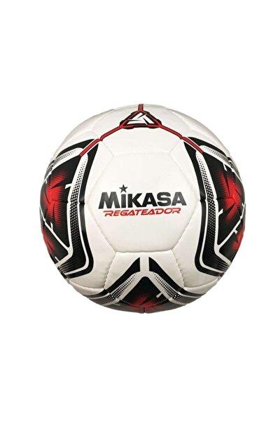 Regateador4-r Beyaz/kırmızı El Dikişli Futbol Topu(Sıze 4)