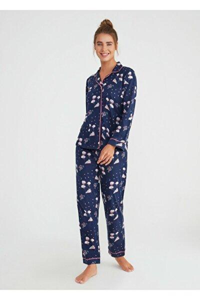 Hug Me Maskulen Pijama Takımı