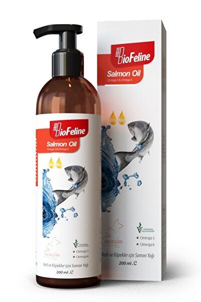 Salmon Oil 200 Ml. ( Kedi Ve Köpekler Için Omega 3 Ve 6 Desteği )