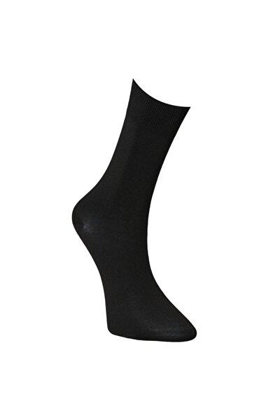 Erkek Siyah Bambulu Soket Çorap