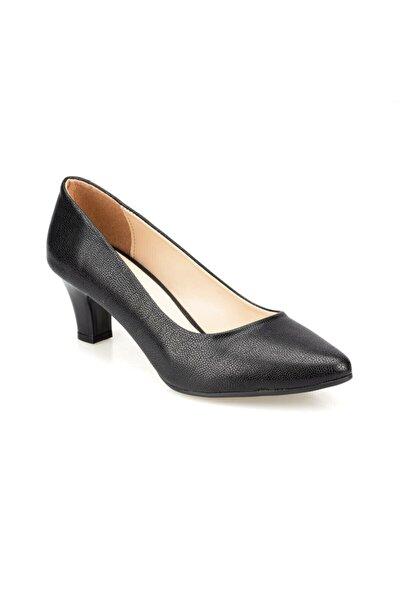 91.313101dz Siyah Kadın Topuklu Ayakkabı 100376618
