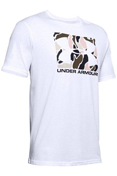 Erkek Spor T-Shirt - Ua Camo Boxed Logo Ss - 1351616-101