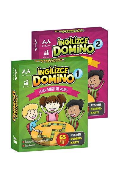 Ingilizce Domio 1 Ve 2 Eğitici Zeka Oyunları Seti