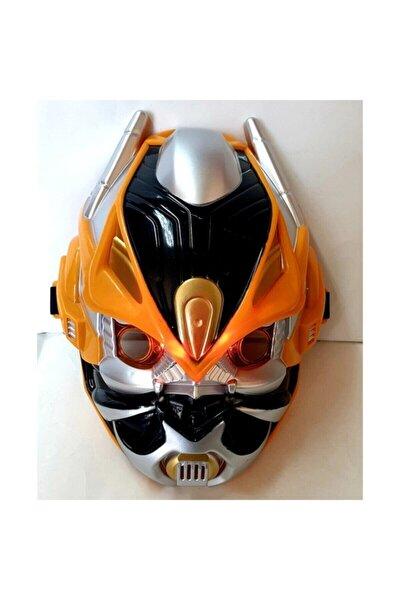 Oyuncak Maske Optimus Bumblebee Maske Işıklı Sesli